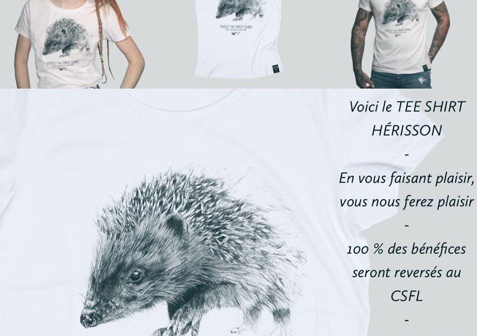 Achetez un T-shirt pour nous soutenir